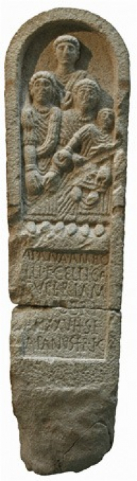 Celtic stele from Galicia, 2nd century